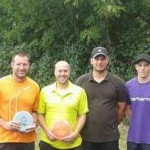 les finalistes, Michaël, Jérémy, Adrien et Philipp