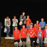 podium double - 14 ans